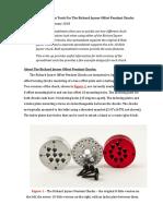 Joyner Offset Pendant Chuck Design Tool Instructions