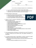 Formulario Para La 1ª Prueba Semestral - 2019