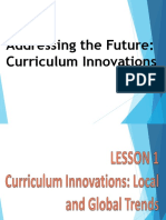 Curriculum Innovations