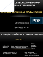 Alteracoes metabolicas ao trauma