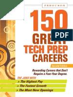 150 Great Tech Prep Careers