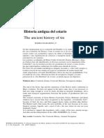 Historia Del Estaño
