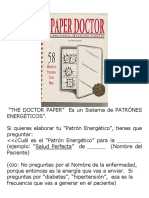 Patrones Energeticos the DOCTOR PAPER