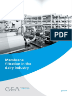 Gea Membrane Filtration Brochure for Dairy Industry