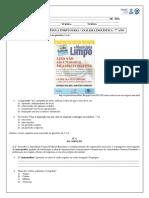 Atividade 5 - 7º Ano - Análise Linguística