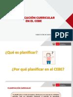 PPT 06 Planificación y Evaluación CEBE