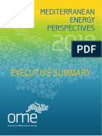 Mediterranean Energy Perspectives 2018