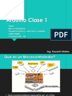Clase 1 - Arduino