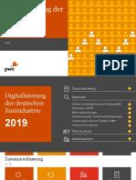 Digitalisierung Der Deutschen Bauindustrie 2019