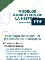 Modelos Didácticos de La Historia