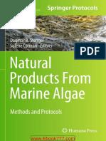 Natural Products Form Marine Algae [STENGEL; CONNAN] [Humana Press  2015] 455s