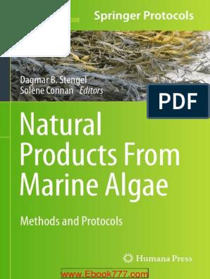 Natural Products Form Marine Algae [STENGEL
