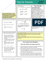 eureka math grade 8 module 1 tips for parents