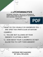 Psychoanalysis 3