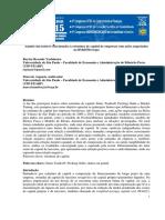 Análise Dos Fatores Relacionados à Estrutura de Capital de Empresas Na BMFbovespa