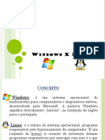 Slides- Windows x Linux