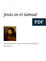 Jesús en El Talmud