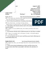 Readings8-11-19