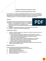 Edital Monitoria 2019.2 FMU