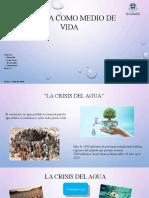 El Agua Como Medio de Vida-1