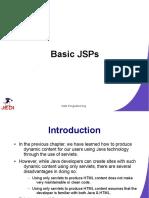 JEDI Slides Web Programming Chapter04 Basic JSPs