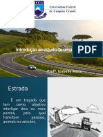 slide aula de estradas