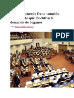 Falta de acuerdo frena votación de proyecto que incentiva la donación de órganos.docx