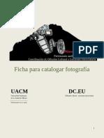 Ficha Catalogar Fotos