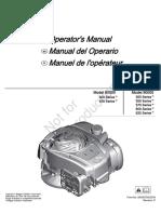 Operators Manual 500 Series