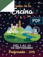 Encina2018 Programa