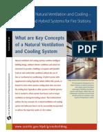 key concepts of a natural ventilation