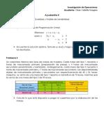 Modelación (Producción, Dietas y Mezclas)