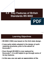 4.4 Key Features of British Standards BS8002