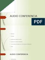 Audio Conferencia Jonathan