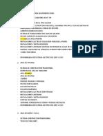 Caracteristicas Del Inmueble Según Inspeccion