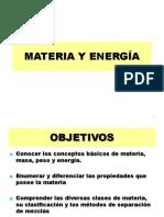 Materia y Energia (UNIDAD 3)