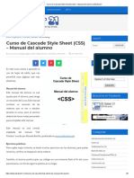 Manual practico de CSS