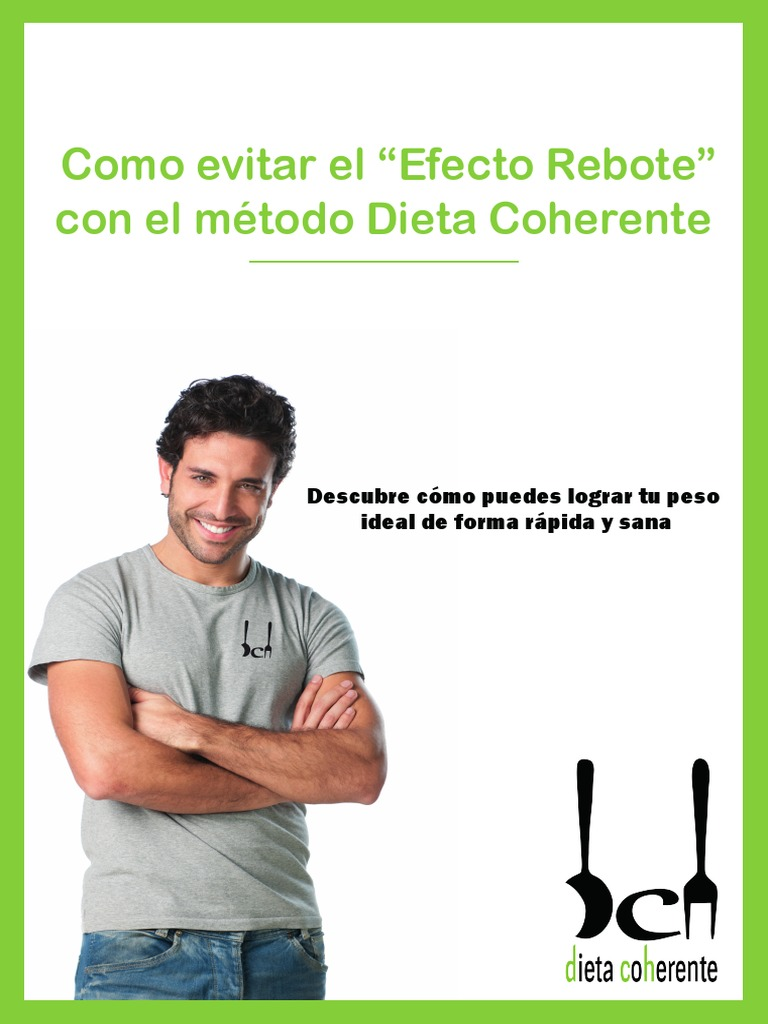 E Book Dieta Coherente Efecto Rebote Dieta Obesidad