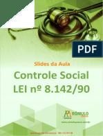 SUS Controle Social Slide
