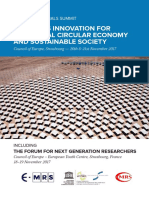 Materials Innovation for the Global Circular Economy and Sustainable Society (2018)