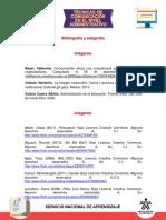 Bibliografia y Webgrafía