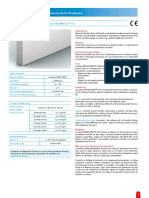 Placa de protección contra incendios PROMATECT®-100