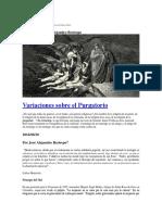 Jose Alejandro Restrepo, Variaciones Sobre El Purgatorio