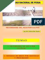 1 Curso Necesidades de Agua de Cultivos A