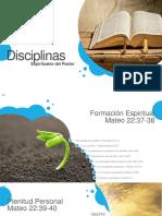 Disciplinas Espirituales Del Pastor