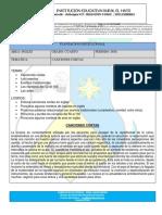 4° PLANEACION SEGUNDO PERIODO INGLES