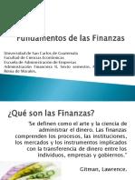 Fundamentos de Las Finanzas