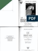 Le Brésil de Blaise Cendrars