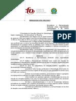 Resolução CFO 198 2019
