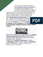 Selección Peruana 2019